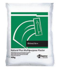 Gyproc plaster